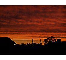 Mackenna's Sunset no.2 Photographic Print