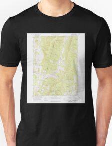Massachusetts  USGS Historical Topo Map MA Hancock 350190 1973 24000 T-Shirt