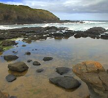 Rock pools by Kerry  Hill