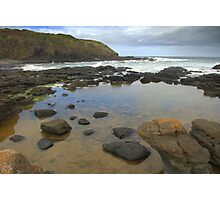 Rock pools Photographic Print