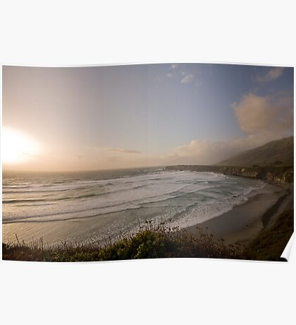 Big Sur Ocean-scape Poster