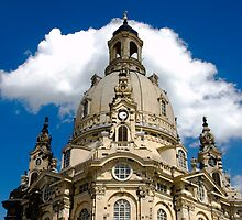 Dresden Church by Blaz Erzetic