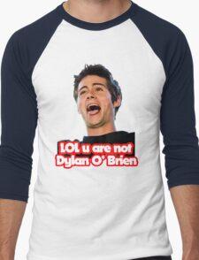 LOL u are not Dylan O'Brien Men's Baseball ¾ T-Shirt