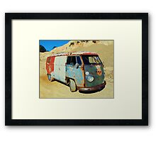 Combi Loved by Rust Framed Print