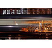 Rush - Flinders Street Station Photographic Print