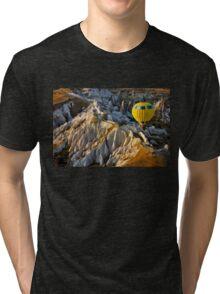 Hot air balloon flight over Cappadocia Tri-blend T-Shirt