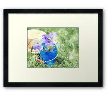 Summer Garden Framed Print