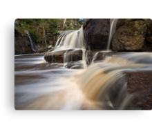 The Falls that Jack Built Canvas Print