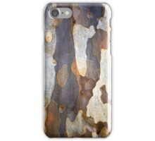 Blue Patches iPhone Case/Skin
