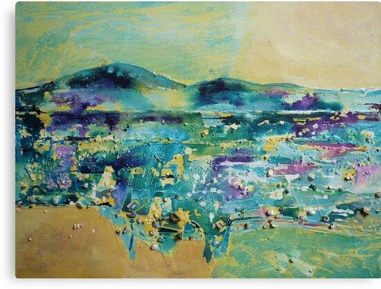 Distant hills by © Pauline Wherrell