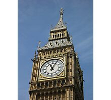 Big Ben - London England Photographic Print