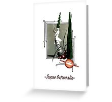 joyous saturnalia Greeting Card