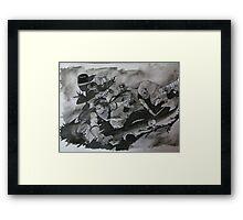 Seven Swordsmen of the Mist Framed Print