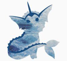 Vaporeon Waves by eleonardi