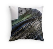 Ballybunion Castle Throw Pillow