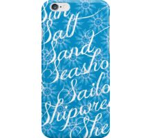 Sun Sand Sea iPhone Case/Skin