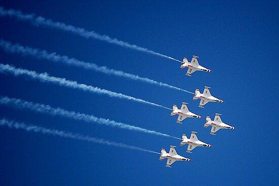 Thunderbirds by Sandy Woolard