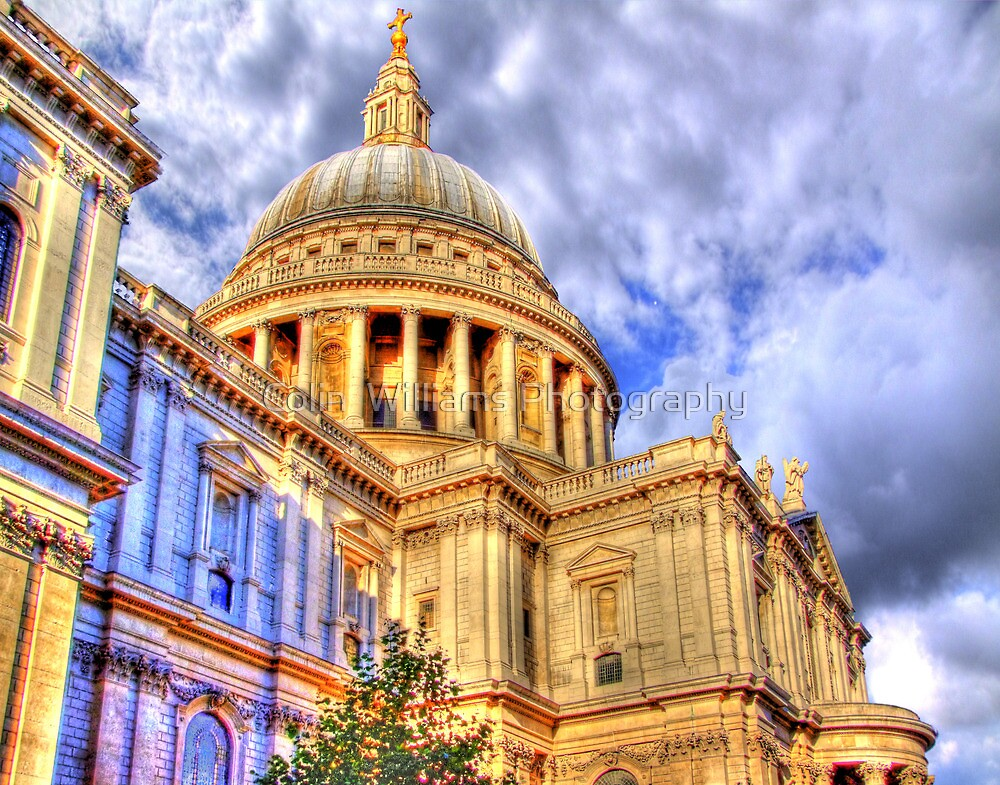 St Paul`s Cathederal - London - HDR by Colin  Williams Photography