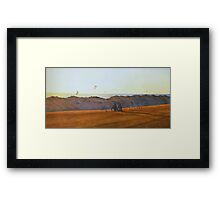 Windy Afternoon Framed Print