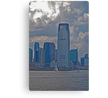 New York City Clouds Canvas Print