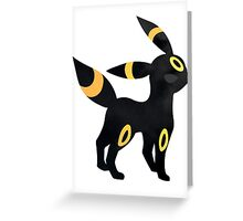 Umbreon Nightfall Greeting Card