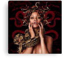 Rihanna medusa Canvas Print
