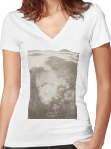 Doctor Who Misty Mountain Series 9 t-shirt Women's Fitted V-Neck T-Shirt
