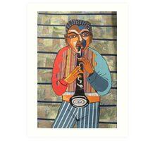 Clarinet Solo Art Print