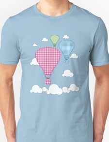 Plaid Hot Air Ballons T-Shirt