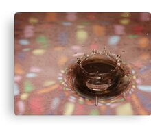 Disco Crown Canvas Print