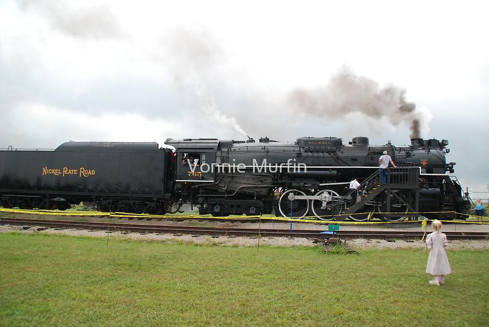 Watching the Train by Vonnie Murfin