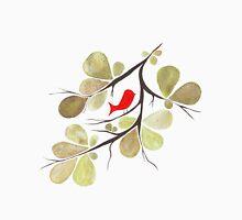 Bird perched on a tree Men's Baseball ¾ T-Shirt