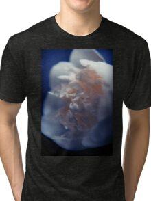 White Peony Tri-blend T-Shirt