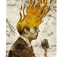The Flaming Crooner by gozblau