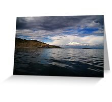 Sea View Greeting Card