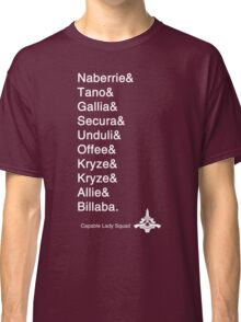 Capable Lady Squad: Old Republic Classic T-Shirt
