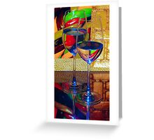 Light and Colors Greeting Card