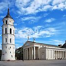 Vilnius Cathedral by Xandru