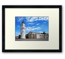 Vilnius Cathedral Framed Print
