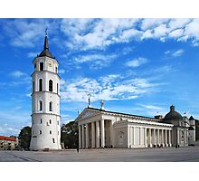 Vilnius Cathedral Photographic Print