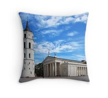 Vilnius Cathedral Throw Pillow