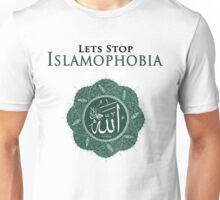 LETS STOP ISLAMOPHOBIA  Unisex T-Shirt