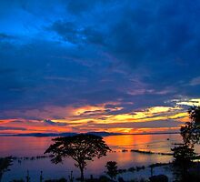 Sunset in Technicolor!! by Vinay Rathore
