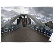 LOWRY BRIDGE THE QUAYS Poster