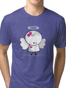Angel girl Tri-blend T-Shirt