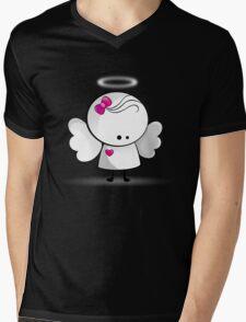 Angel girl Mens V-Neck T-Shirt