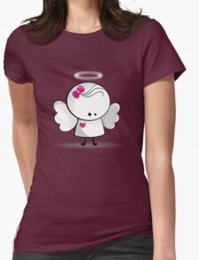 Angel girl Womens Fitted T-Shirt