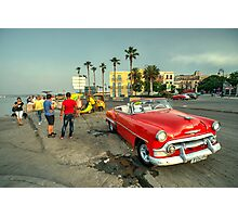 Chevy on the Prom  Photographic Print