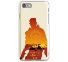 Mad Max Minimalist iPhone Case/Skin