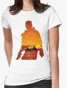 Mad Max Minimalist Womens Fitted T-Shirt